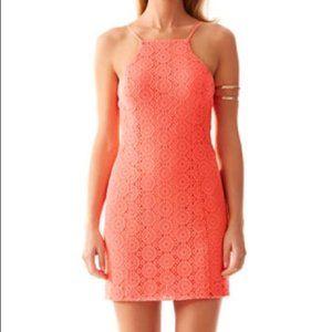 Lilly Pulitzer Costello Cut Lace Shift Dress
